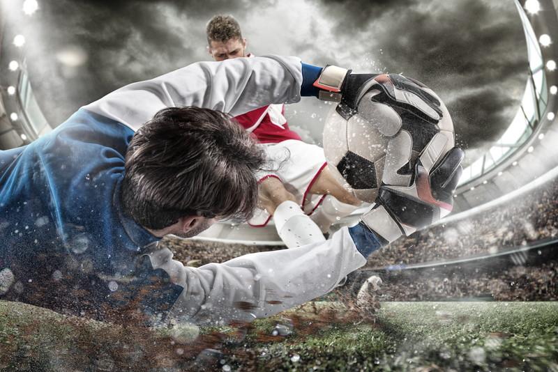 激しい闘い練習