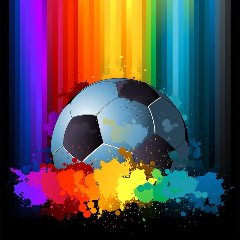 サッカー 虹