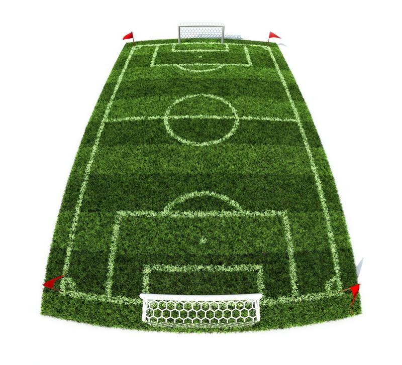 サッカーフィールド